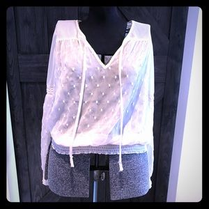 Freepeople lace blouse